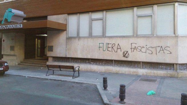 Atacan la sede del Grupo Intereconomía en Madrid
