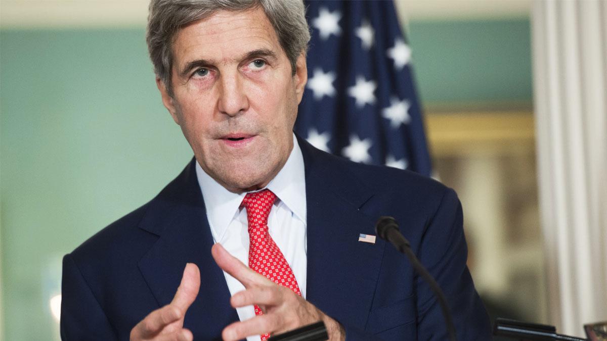El secretario de Estado de EE UU John Kery (Foto: AFP)