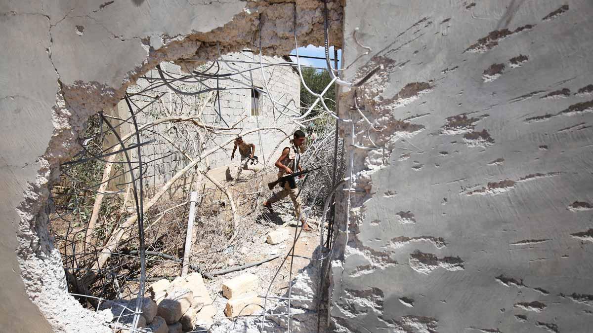 Bombardeos en Libia (Foto: Reuters)