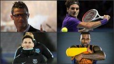Los 10 deportistas mejor pagados.