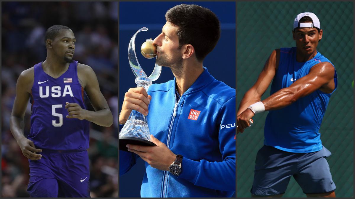 Los deportistas que más cobran en los JJ.OO de Río. (Collage Getty Images)
