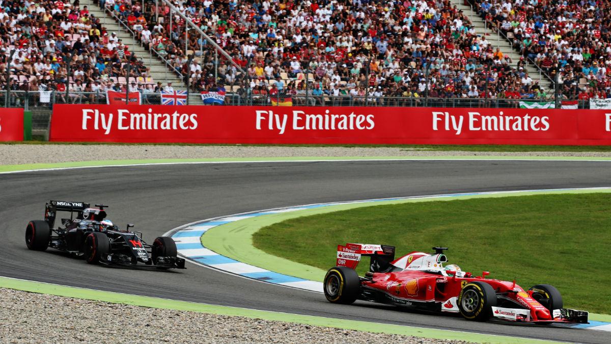 En Honda no ven a Ferrari tan lejos como para no poder darles caza antes de que acabe el año. (Getty)