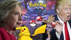 El fenómeno Pokémon Go ha llegado a la campaña por la Casa Blanca de Washington.