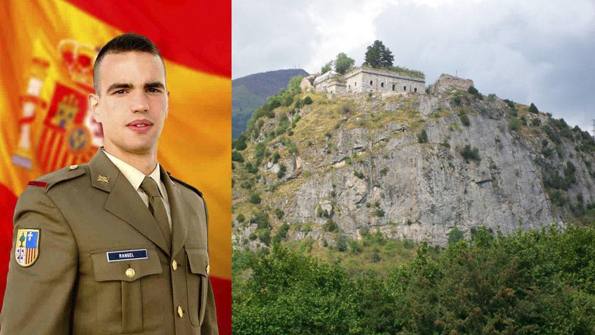 El soldado Rubén Rangel fallecido haciendo escalada en Huesca.
