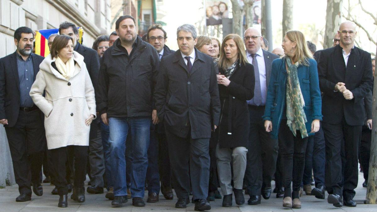 Francesc Homs declara por la consulta del 9N. (Foto: EFE)