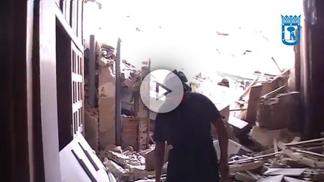 Un año después del trágico derrumbe en Carabanchel, Carmena no ha dado solución a los afectados