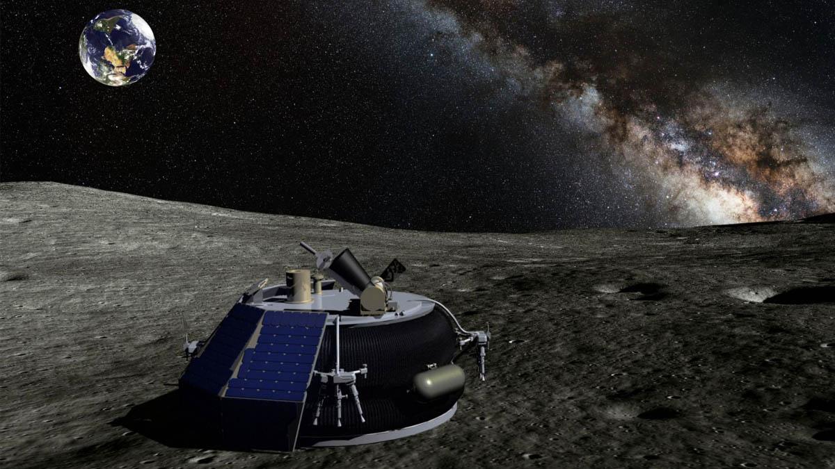 Naves no tripuladas en la luna (NASA)