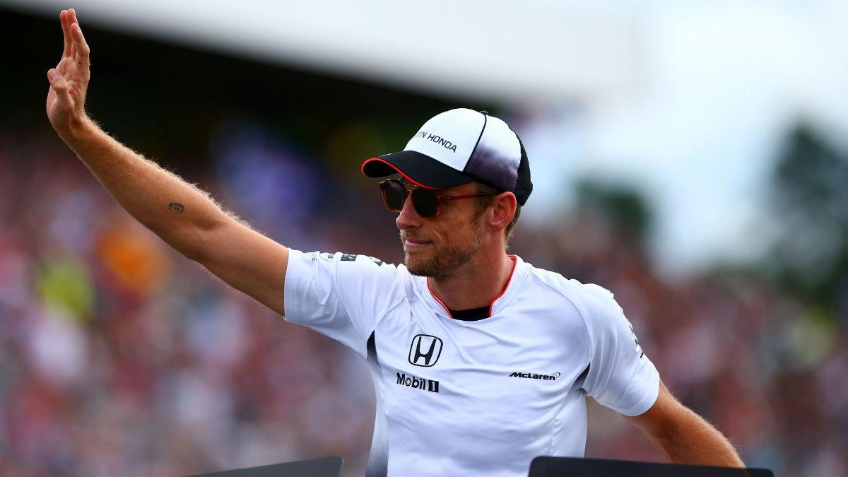 Jenson Button podría cambiar los colores de McLaren por los de Williams. (Getty)