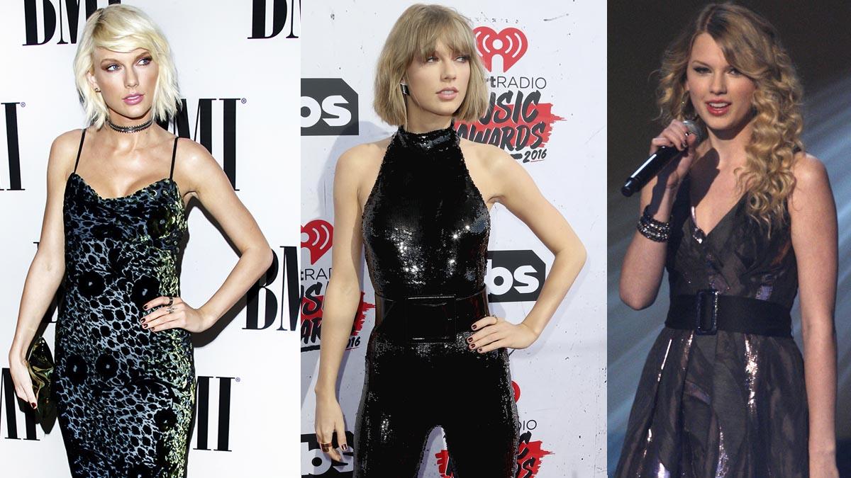 Los cambios de look de las celebrities – Taylor Swift