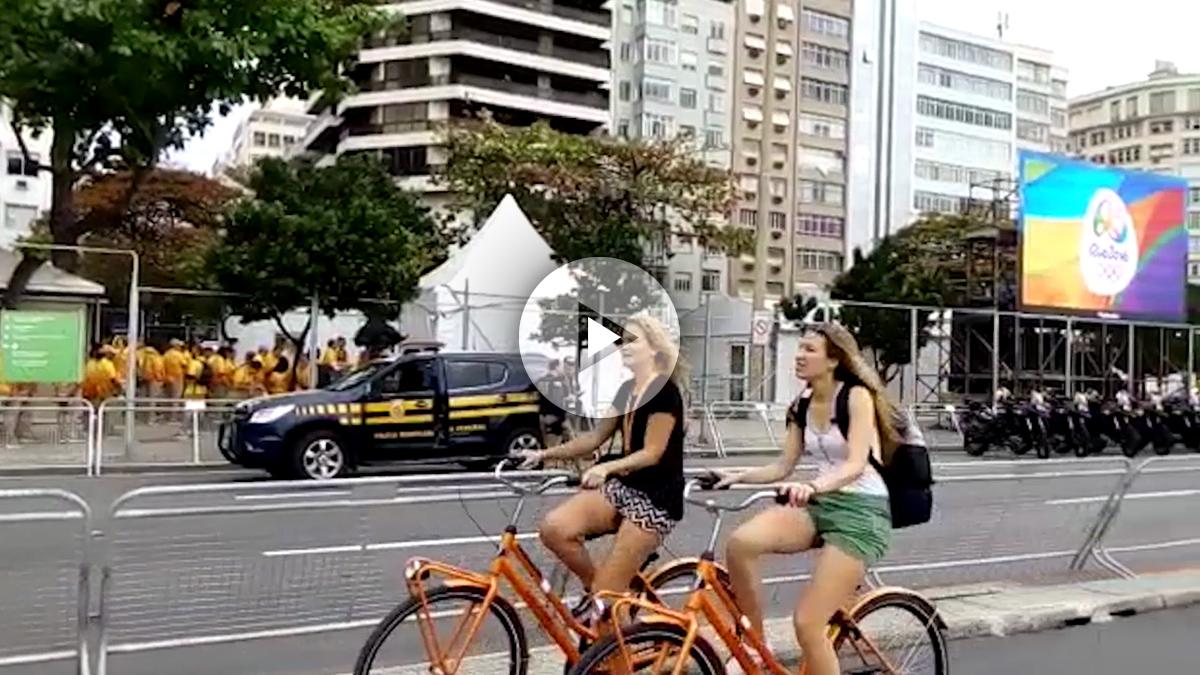 La imagen de Copacabana en Río de Janeiro ha mejorado en las últimas fechas.