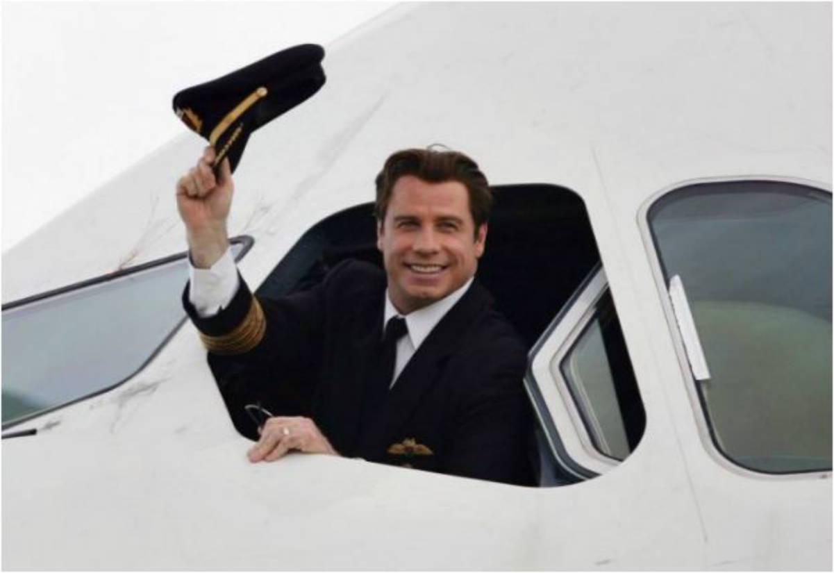 John Travolta avión privado (Twitter)