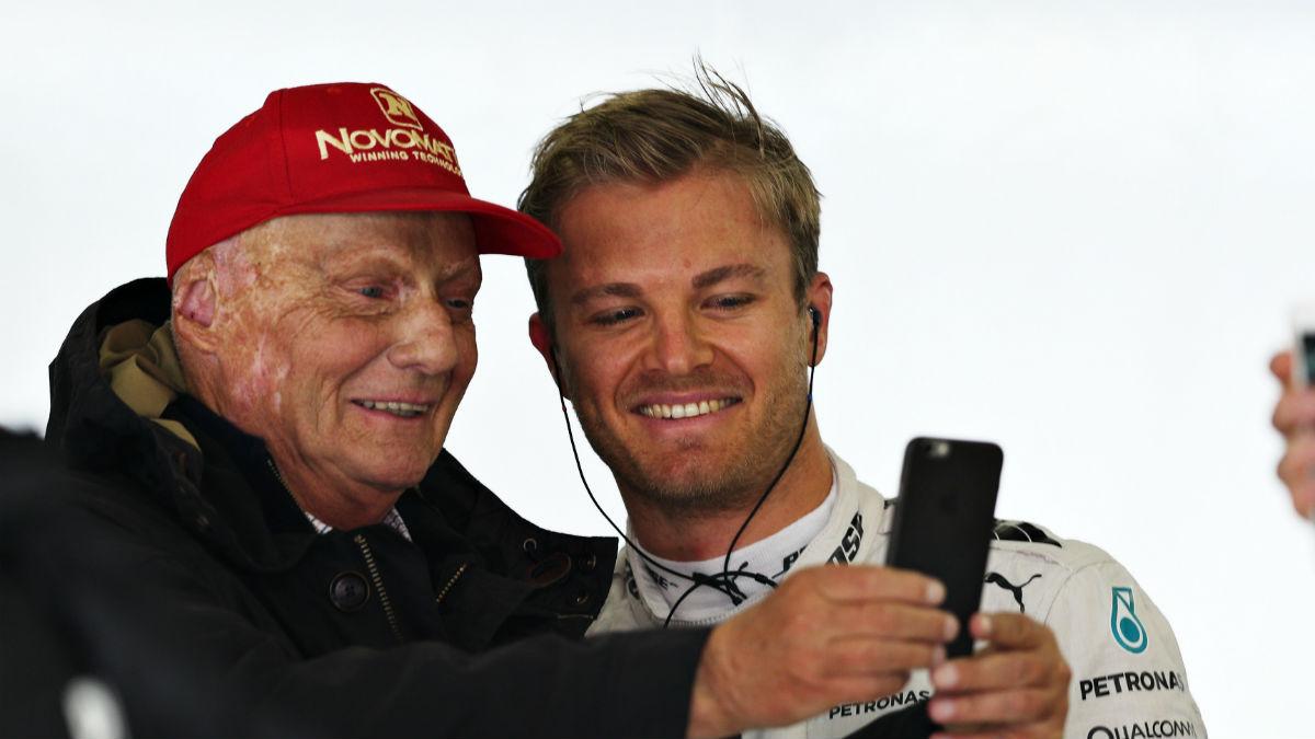 Niki Lauda se muestra convencido de que Rosberg volverá a mostrar su máximo nivel en lo que resta de campeonato. (Getty)