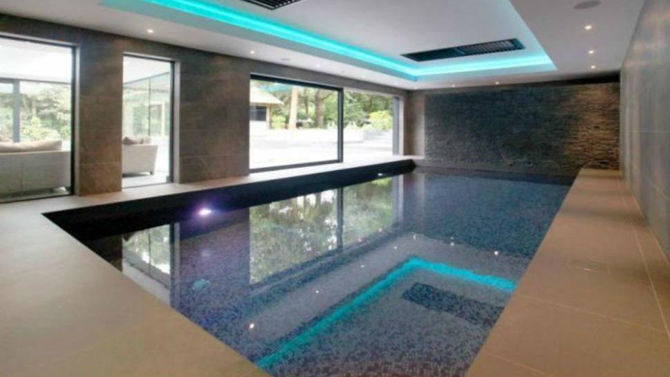 La piscina en la que se relajará Zlatan Ibrahimovic.