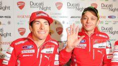 Nicky Hayden desea el décimo título de Valentino Rossi. (Getty)
