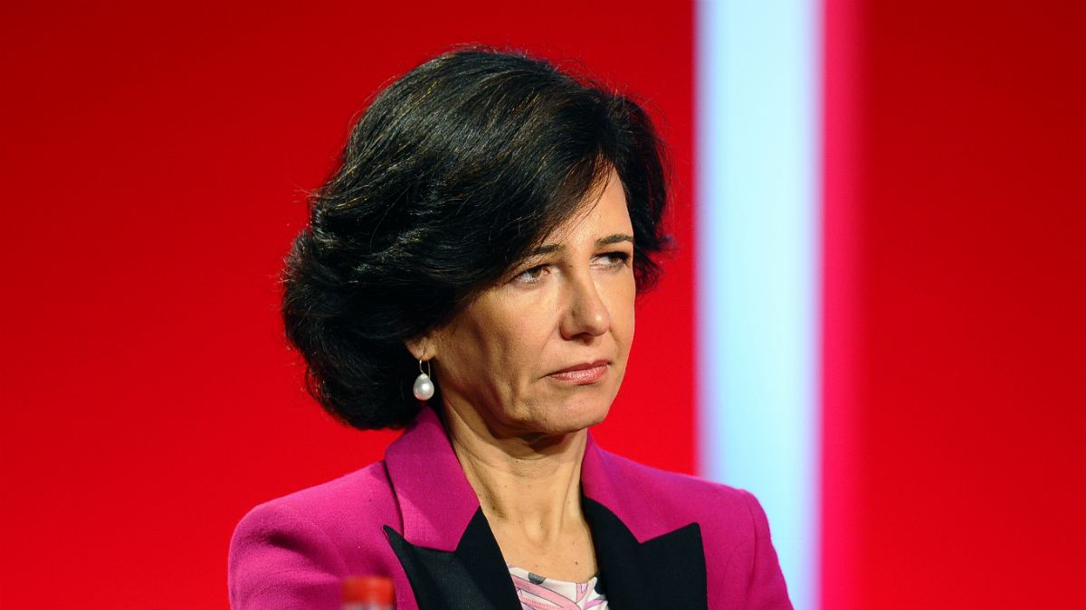 La presidenta del Banco Santander, Ana Botín (Foto: GETTY).