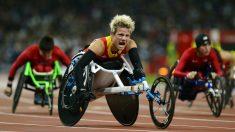 Marieke Vermoort gana el oro en los Paralímpicos de Londres. (AFP)