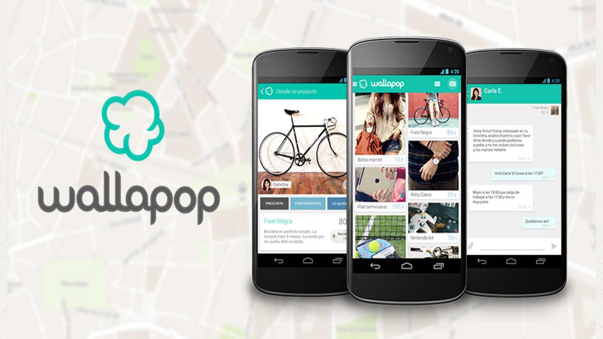 Wallapop es una aplicación móvil para compra-venta de segunda mano.