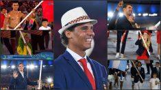 Algunas de las imágenes que quedarán para la posteridad del desfile olímpico en Río de Janeiro.