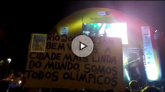 Así vivieron los españoles la ceremonia de inauguración de los Juegos en Río