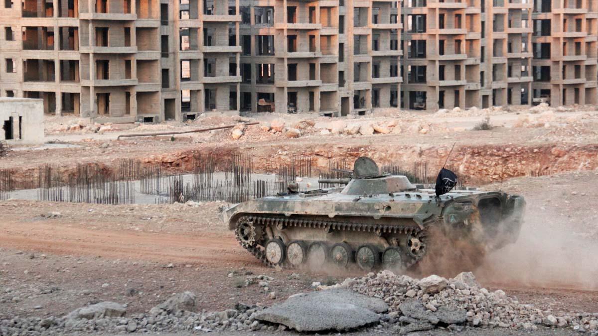 Imágenes de la guerra en Siria (Foto: AFP)