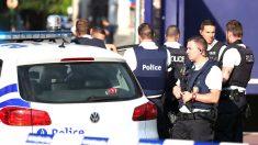 Policías belgas (Foto: AFP).