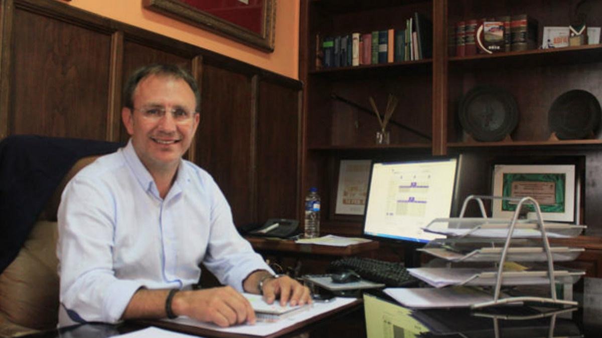 Sergio Rodríguez, alcalde de El Paso en la isla canaria de La Palma.