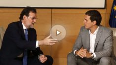 Mariano Rajoy y Albert Rivera. (Foto: EFE)