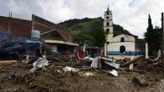 Foto del daño que ha causado Earl en la localidad de Xaltepec, en el estado de Puebla, al este de México. (Foto: AFP)