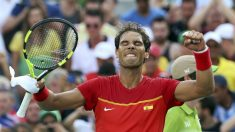 Nadal celebra su victoria ante Seppi. (Reuters)