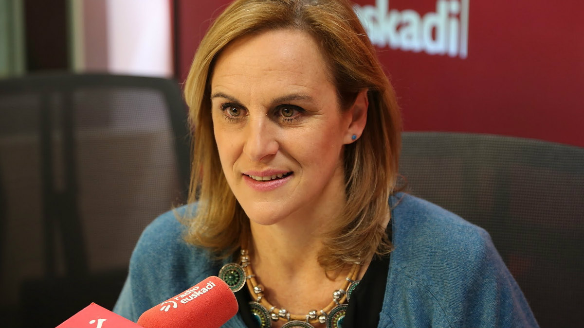 La presidenta del BBB del PNV, Itxaso Atutxa.