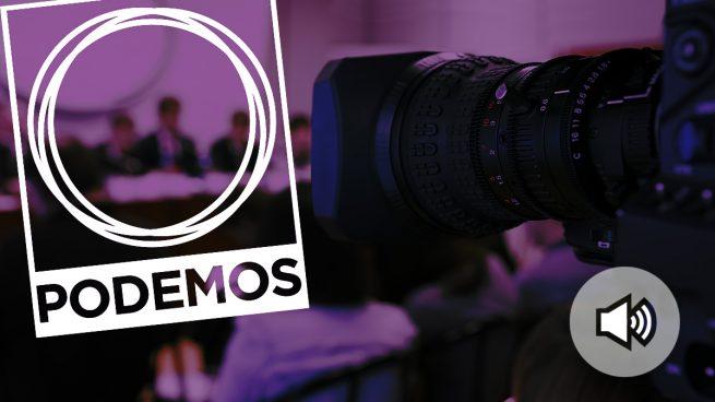 Reunión secreta del Círculo Joven de Podemos Madrid.