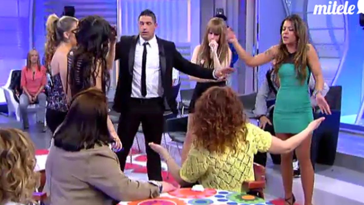 Mujeres y Hombres y Viceversa, en Telecinco.
