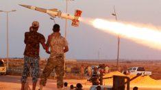 Ataques sobre el Estado Islámico en Sirte, Libia (Foto: Reuters)