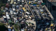 Las carreteras de Río son un caos. (AFP)