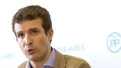 El vicesecretario de Comunicación del PP y diputado por Ávila, Pablo Casado (Foto: Efe)
