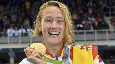 La felicitación del novio de Mireia Belmonte por su oro olímpico