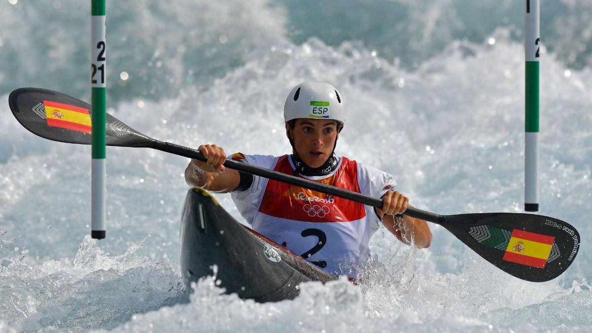 Maialen Chourraut, campeona olímpico en Río de Janeiro. (AFP)