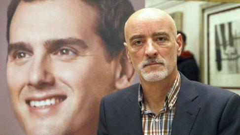 El candidato a la Lehendakaritza por Ciudadanos, Nicolás de Miguel. (Foto: EFE)