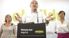 El candidato de EH Bildu a lehendakari, Arnaldo Otegi  (Foto Efe)