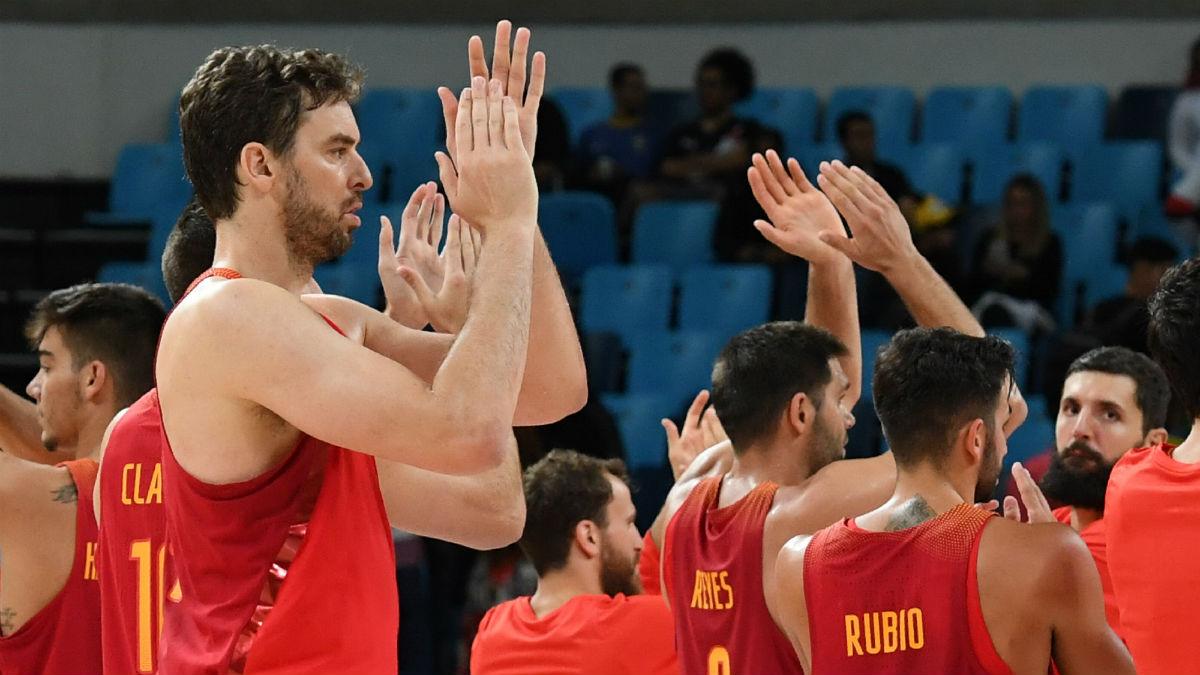 Pau Gasol volverá a liderar a España en el Eurobasket. (AFP)