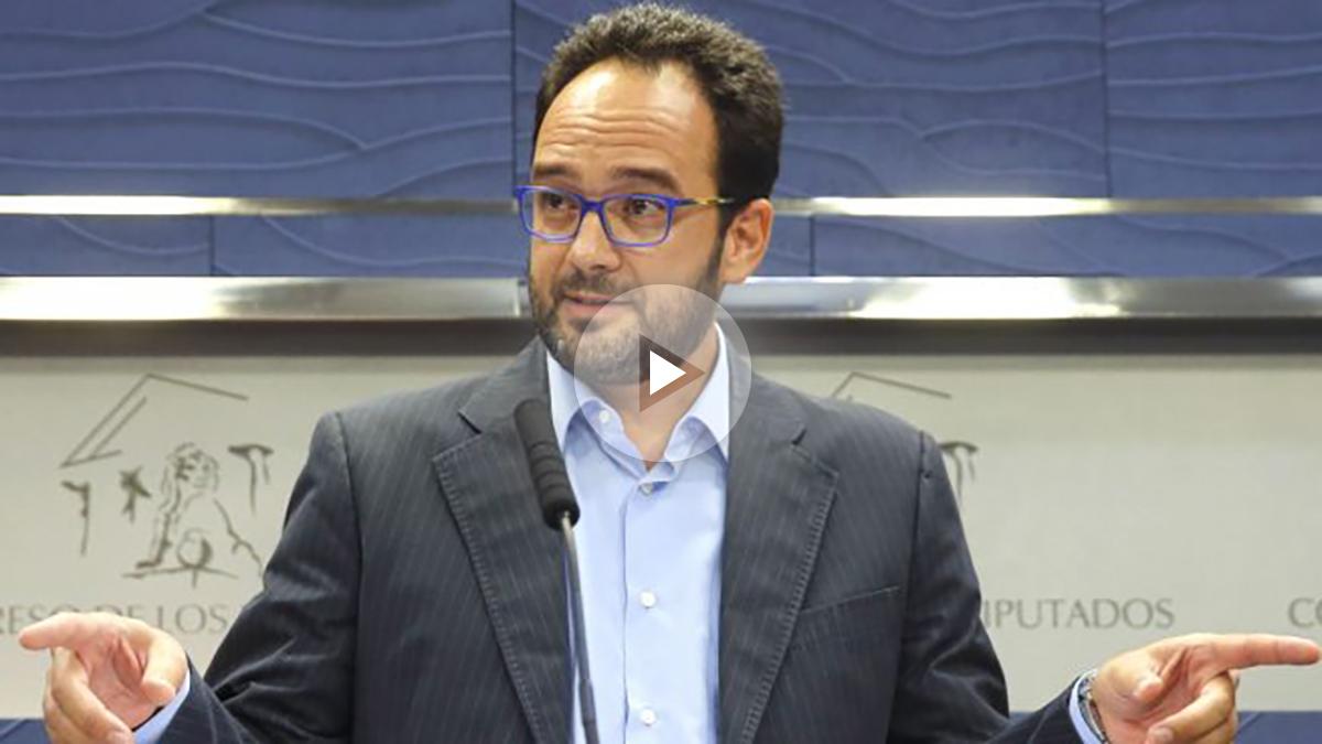 El portavoz del Grupo Socialista, Antonio Hernando (Foto: Efe)