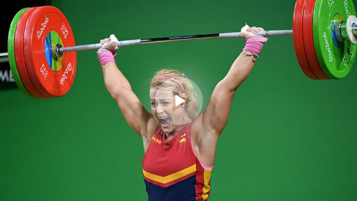 Lidia Valentín ganó el bronce en Río. (AFP)