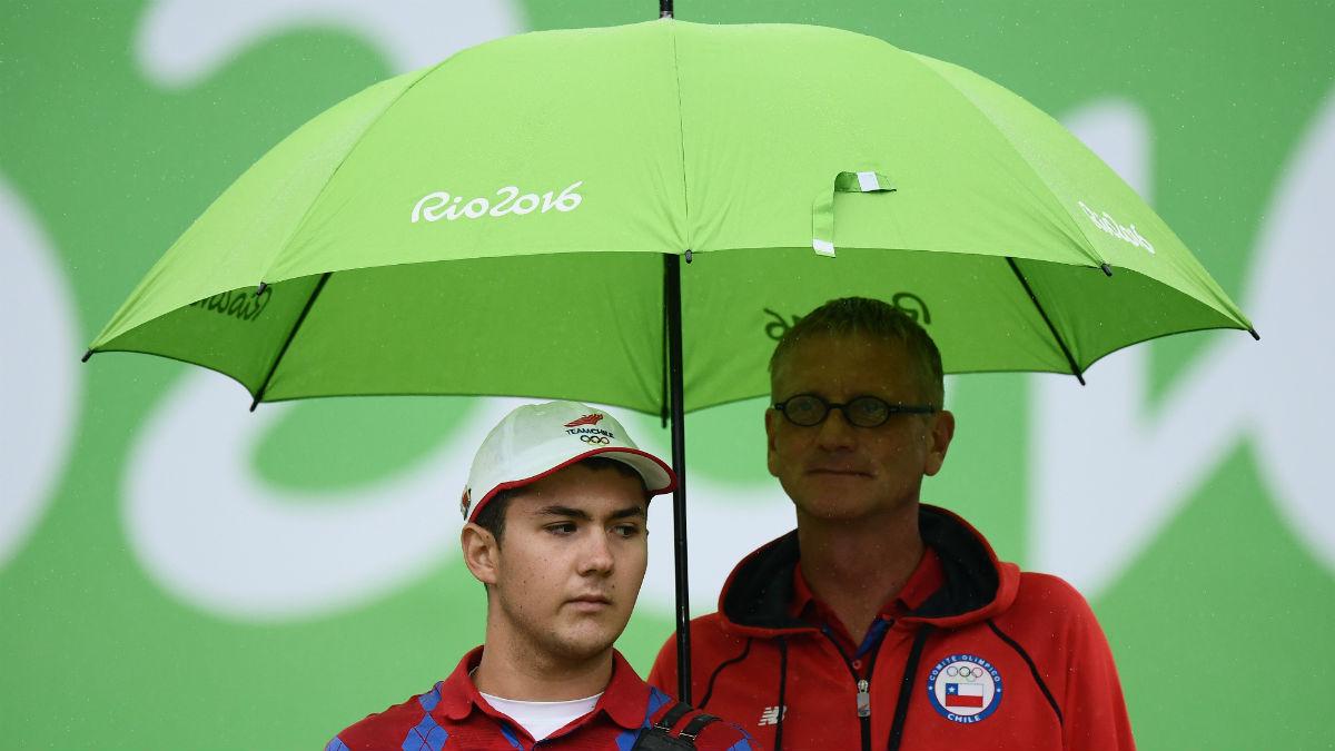 Los paraguas son frecuentes en Río. (Getty)