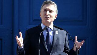 Mauricio Macri en una reciente imagen (Foto: AFP).