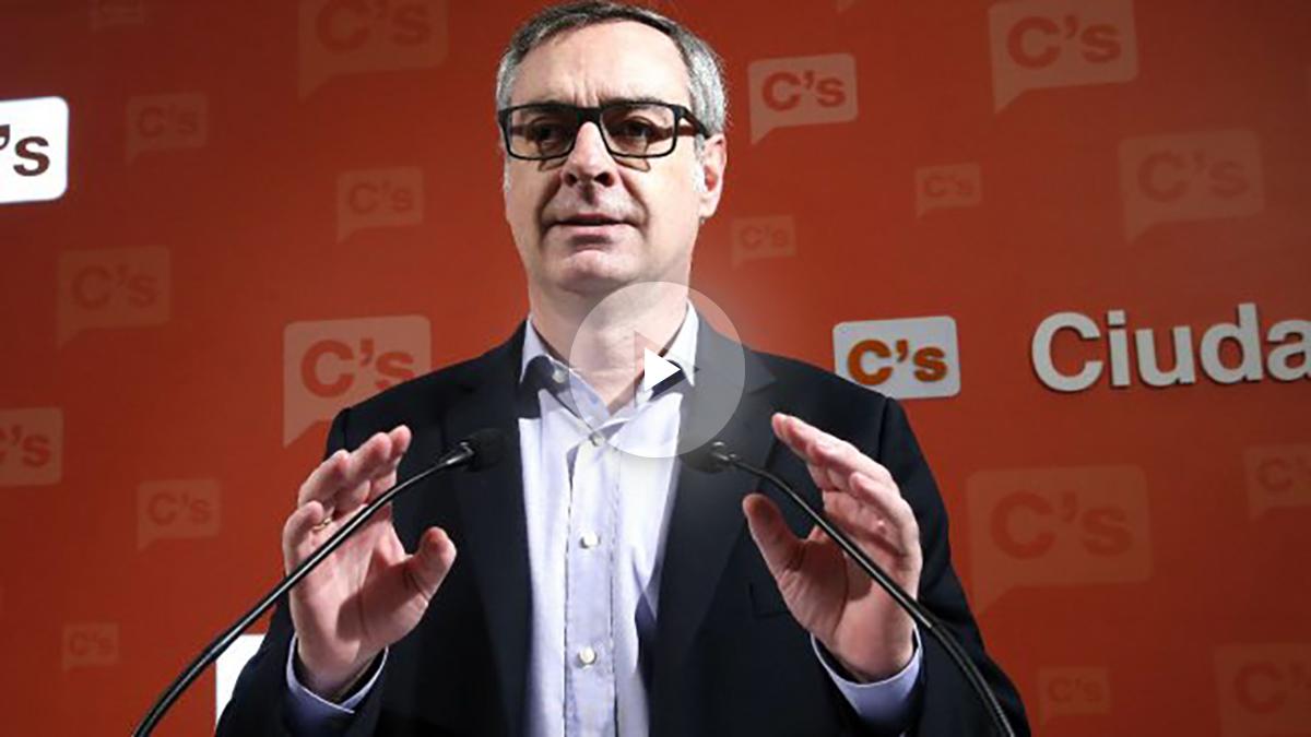 José Manuel Villegas, en rueda de prensa. (Foto: Efe).