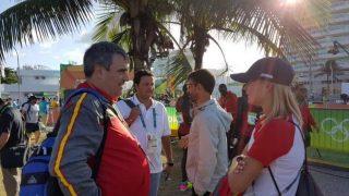Miguel Cardenal, en una imagen en los Juegos Olímpicos de Río.