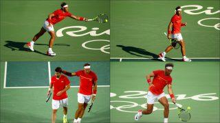 Rafa Nadal, omnipresente en los Juegos de Río. (Getty)