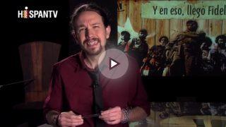 Pablo Iglesias en el programa Fort Apache dedicado a Fidel Castro.