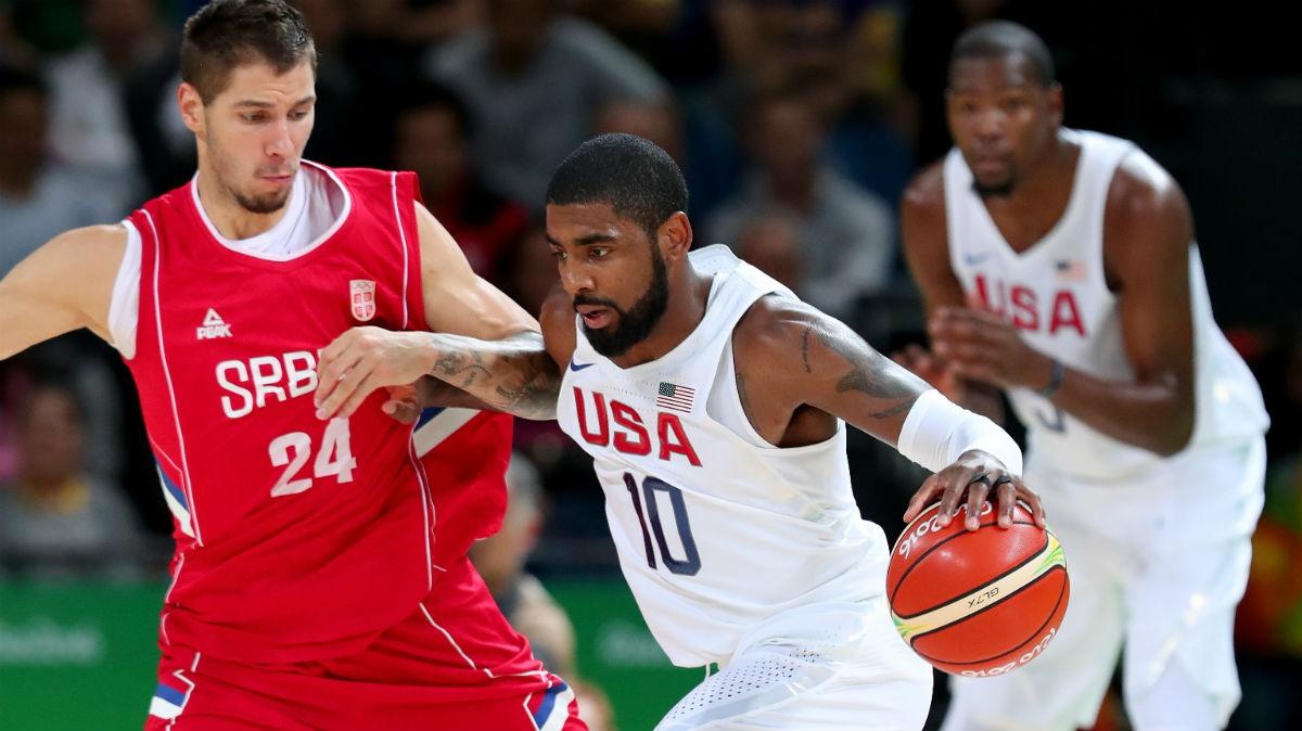 Estados Unidos venció a Serbia. (Getty)