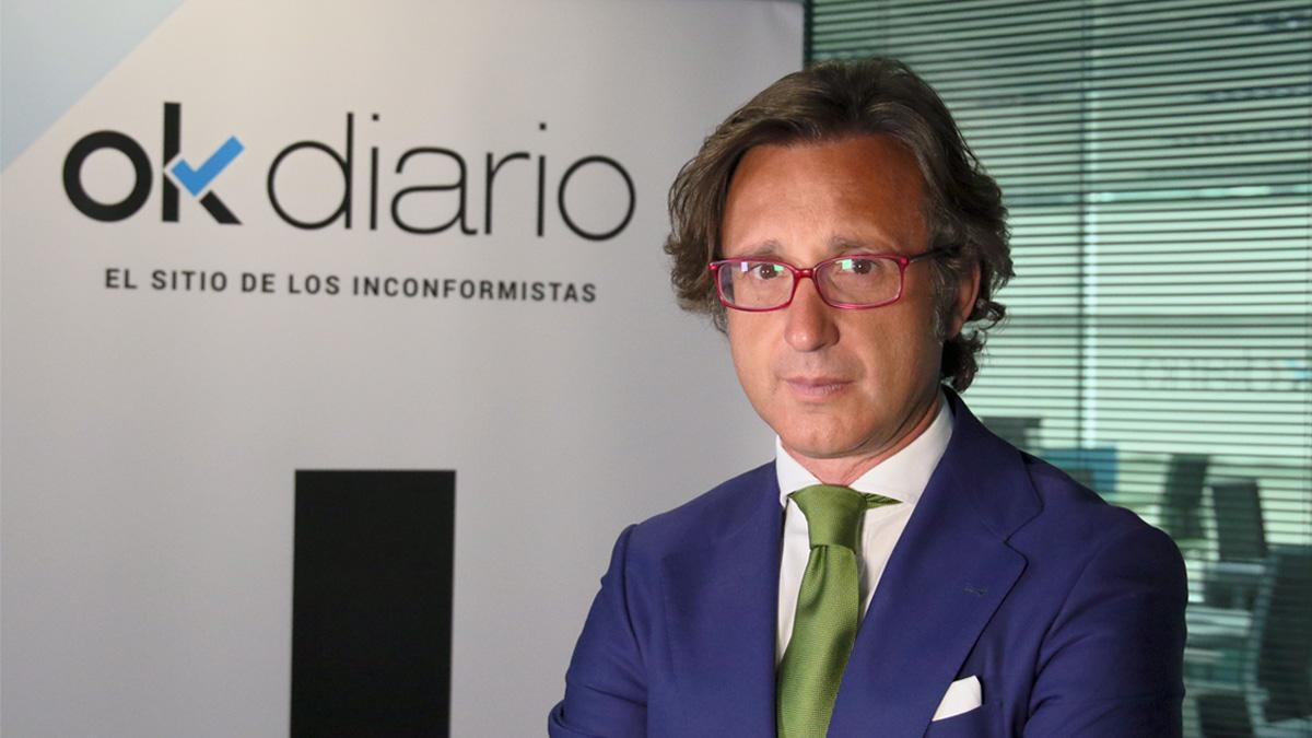 El nuevo vicepresidente de Dos Mil Palabras, Juan Carlos García.